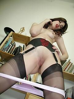 Stocking Pussy pics