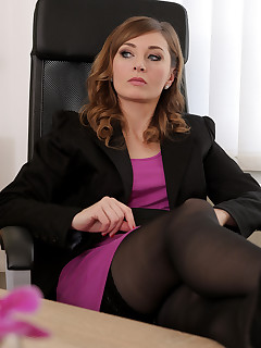 Secretary Stocking Pics