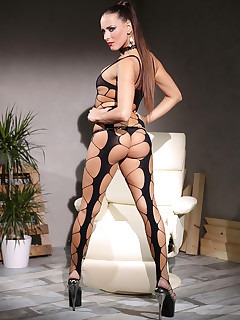 Vinna in Chains: Czech Bondage Vixen Double Penetrated free photos and videos on DDFNetwork.com