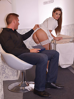 The Upskirt Gawker - Filthy Cock Sharing In Hotel Corridor free photos and videos on DDFNetwork.com