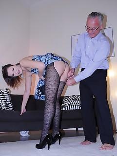 Jim Slip UK Porn video:HAJNI GETS IT UP THE HARSE!