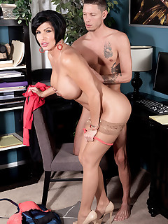 40 Something - Creampie for the busty MILF - Shay Fox and Tyler Steel (62 Photos)