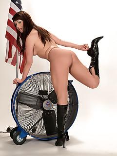 Leg Sex - Pinup Pantyhose Fantasy - Chloe Chanel (41 Photos)
