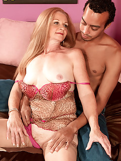 50 Plus MILFs - Cougar On The Loose - Misty Gold and Shaggy (52 Photos)