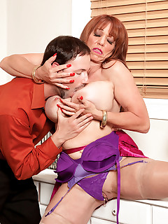 50 Plus MILFs - For An Encore, Sheri Gives Up Her Ass - Sheri Fox and Andy Mann (56 Photos)