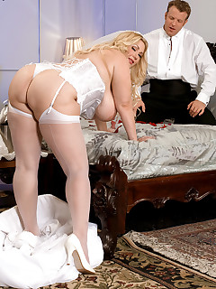XL Girls - My Big Plump Wedding and Honeymoon - Samantha 38G and Seth Dickens (50 Photos)
