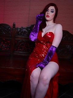 Who Face Fucked Jessica Rabbit by Cosplaybabes.XXX